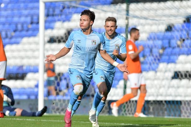 coventry players celebrate